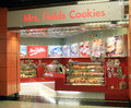 Mrs fields cookies in hong kong located east point city shopping mall tseung kwan o sells muffin taffy Royalty Free Stock Photos