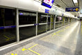 Mrt station bangkok metro in Royalty Free Stock Images