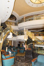 MSC Musica cruise ship reception hall Royalty Free Stock Photo