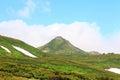 Mt akadake daisetsuzan national park in hokkaido japan Royalty Free Stock Image