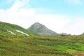 Mt akadake daisetsuzan national park in hokkaido japan Stock Images