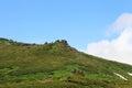 Mt akadake daisetsuzan national park in hokkaido japan Royalty Free Stock Photos