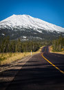 Mt Bachelor Royalty Free Stock Photo