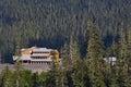 Mt. Baker Lodge Royalty Free Stock Photo