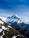 Mt Cook by Air Royalty Free Stock Photo