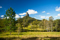Mt Coonowrin in Queensland Australia Royalty Free Stock Photo