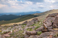 Mt evans scenery above treeline in wilderness in colorado Stock Photos