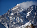 Mt. Everest, Nuptse Stock Image