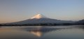 Mt fujiyama japan view of fuji at kawaguchi lake Stock Photography