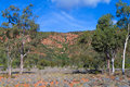 Mt gunderbooka in gundabooka national park outback new south wales australia Stock Photos
