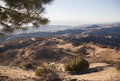 Mt hamilton mount san jose california at a sunny day Royalty Free Stock Image