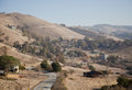 Mt hamilton mount san jose california at a sunny day Royalty Free Stock Photos