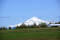 Mt jefferson oregon cascades range near redmond oregon Royalty Free Stock Photo