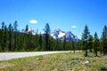Mt. McGowan - Idaho's Sawtooth Mountains Royalty Free Stock Photo