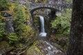 Mt Rainer Waterfall Royalty Free Stock Photo
