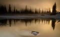 Mt Rainier Sunrise Royalty Free Stock Photo