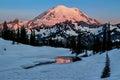 Mt. Rainier Tipsoo Lake, Washington State Royalty Free Stock Photo
