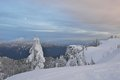 Mt. Seymour Brockton Point Stock Photo