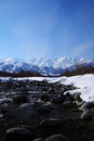Mt. Shiroumadake, Nagano Japan Royalty Free Stock Image