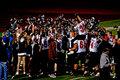 Mt. View High School Football Goes to Championship Royalty Free Stock Images
