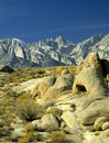 Mt. Whitney Sierras Stock Photos