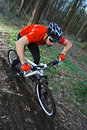 Mtb biking bicycle Royalty Free Stock Photo