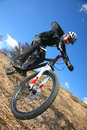 Mtb extreme Royalty Free Stock Photo