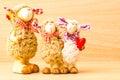 Muñeca de las ovejas de la familia Imagen de archivo libre de regalías