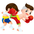 Muaythai14 Royalty Free Stock Photo