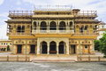 Mubarak mahal jaipur city palace its built fusion islamic rajput european architectural styles late th century maharaja madho Stock Photography