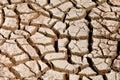 Mud Cracks Royalty Free Stock Photo