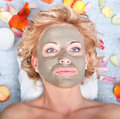 Mud Mask Stock Photos