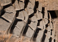 Mud terrain tire. Royalty Free Stock Photos