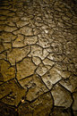Mud texture cracked details with large cracks and very dried Stock Images