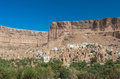 Mud town in wadi doan hadramaut province yemen panorama of Royalty Free Stock Photos