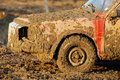 Muddy car Royalty Free Stock Photography