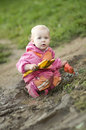 Muddy Child Royalty Free Stock Photo