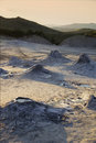 Muddy Volcanoes Royalty Free Stock Photography