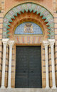 Mudejar Pavilion door Royalty Free Stock Image