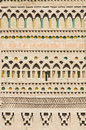 Mudejar wall Stock Photography