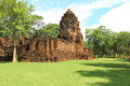 Mueang Sing Historical Park Royalty Free Stock Photo