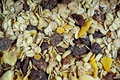 Muesli background Royalty Free Stock Images