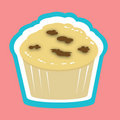 Muffin illustration Stock Images