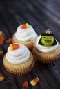 Muffiner halloween Royaltyfri Foto