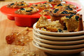 Muffins with feta and olives. Royalty Free Stock Photo