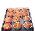 Muffins good food for breakfast homemade food Royalty Free Stock Photography