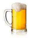 Mug with beer Royalty Free Stock Photo