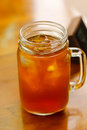 Mug of Iced Tea Royalty Free Stock Photo