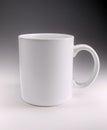 Mug printed design on a Royalty Free Stock Photos