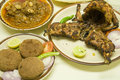 Mughlai cuisine it represents the cooking styles used in north india especially uttar pradesh and delhi pakistan bangladesh and Stock Images